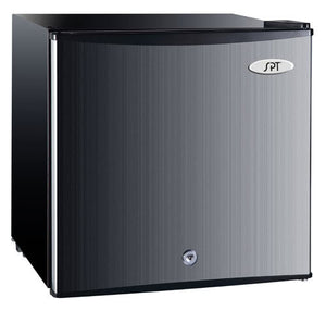 Sunpentown 1.1 cu.ft. Upright Freezer in Stainless door & black cabinet UF-150SS