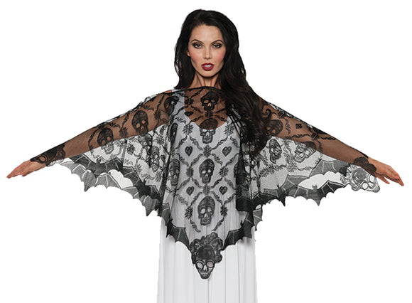 Poncho Lace Vampire