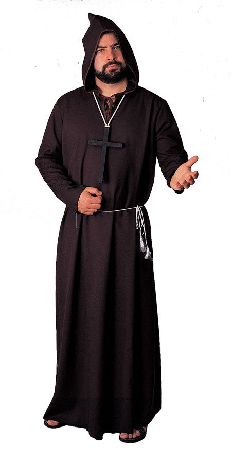 ROBE MONK QUALITY BLACK