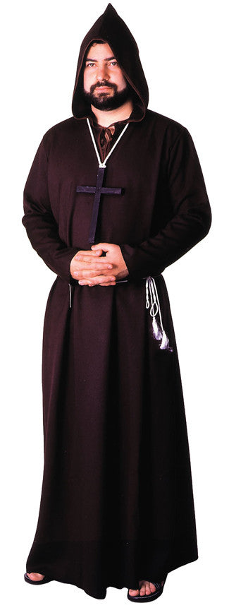 ROBE MONK QUALITY BROWN