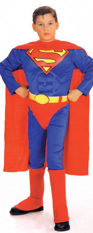 SUPERMAN CHILD W CHEST SMALL
