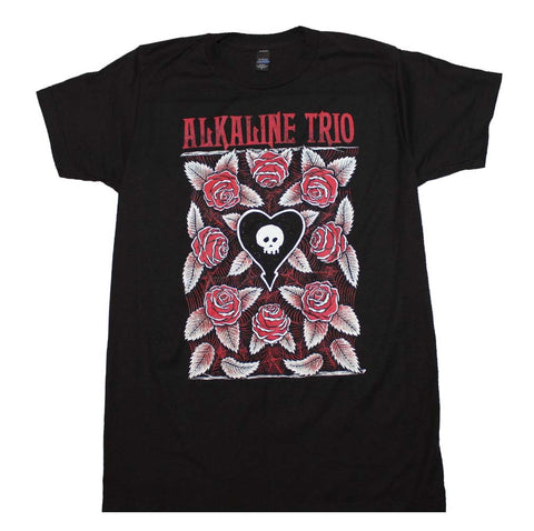 Alkaline Trio Roses T-Shirt X-Large