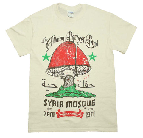 Allman Brothers Syria Mosque T-Shirt X-Large
