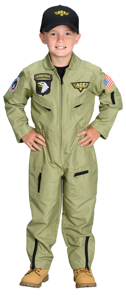 FIGHTER PILOT CHILD SMALL 4-6