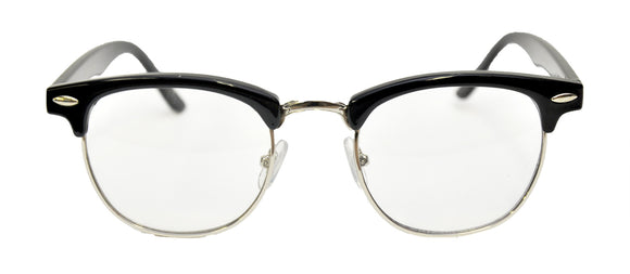 Glasses Mr 50'S Blk Clr