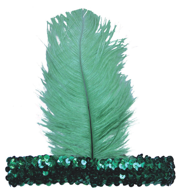 20S Headband Green  Costume Accessories - Bargains Delivered