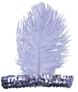20S Headband Silver  Costume Accessories - Bargains Delivered