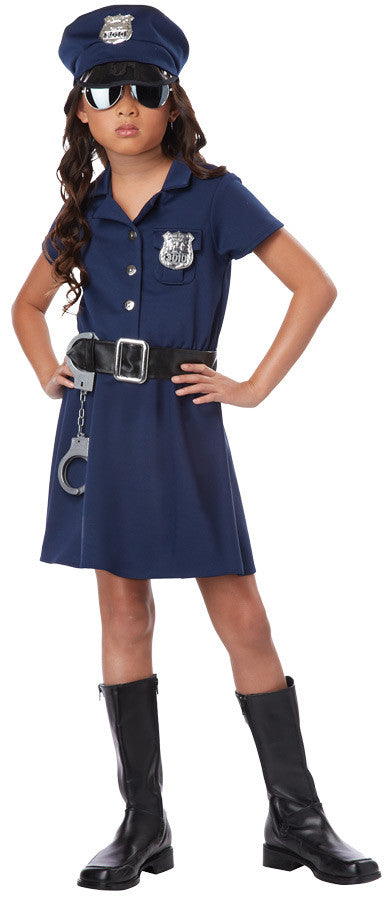 POLICE OFFICER CHILD LG 10-12
