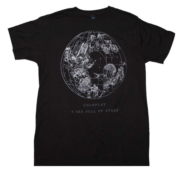 Coldplay Sky Full of Stars T-Shirt X-Large