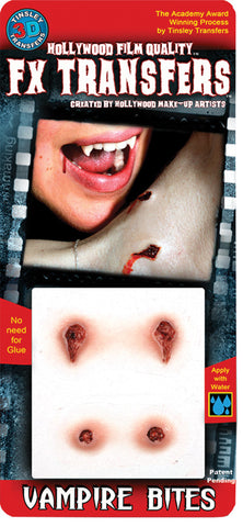 3D Fx Sm Vampire Bites  Costume Accessories - Bargains Delivered