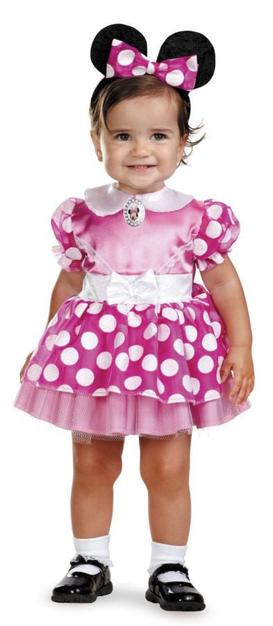 MINNIE MOUSE PINK 12-18 MTHS