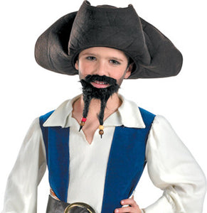 PIRATE HAT MUST GOATEE CHLD