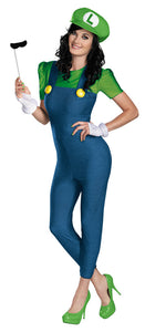 LUIGI FEMALE DELUXE ADULT 8-10