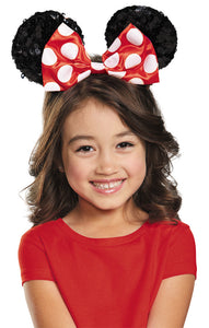 MINNIE RED CHILD SEQUIN EARS