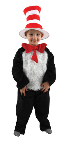 CAT IN HAT TODDLER 2T-4T