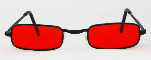 GLASSES VAMPIRE BLK RED