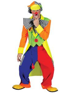 SPANKY STRIPES ADULT CLOWN LG