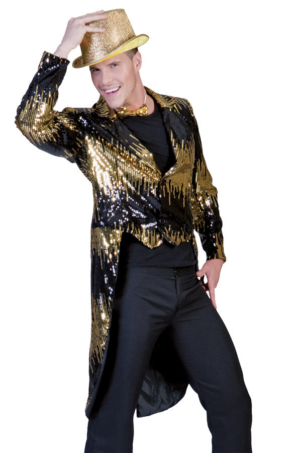 GLITTER TAILCOAT GOLD SMALL
