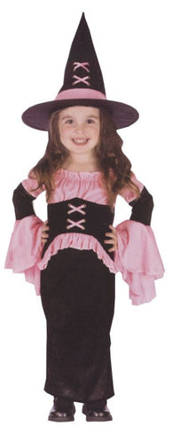 WITCH PRETTY PINK TODDLER LARG