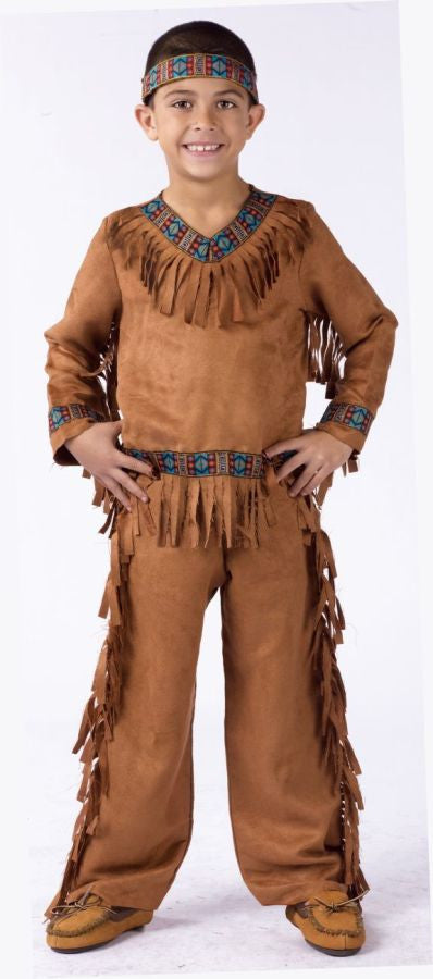 AMERICAN INDIAN BOY CHLD MED