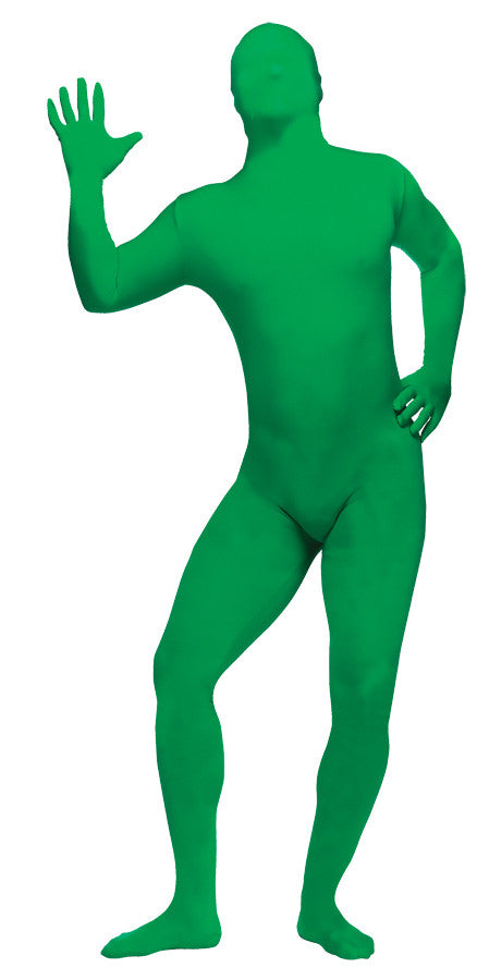 SKIN SUIT GREEN TEEN/AD SM