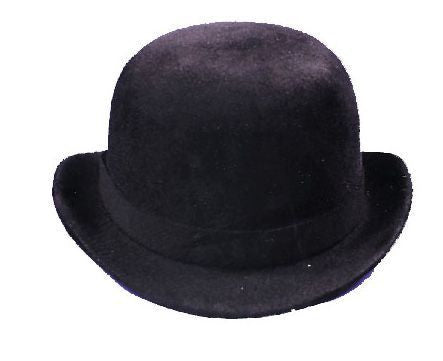 DERBY HAT BLACK FELT MEDIUM