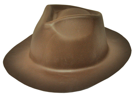 GANGSTER HAT BROWN FOAM