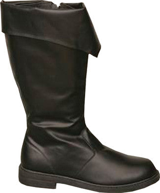 BOOT PIRATE BLACK MEN SML