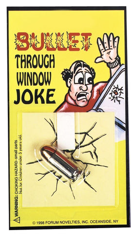 BULLET THRU WINDOW