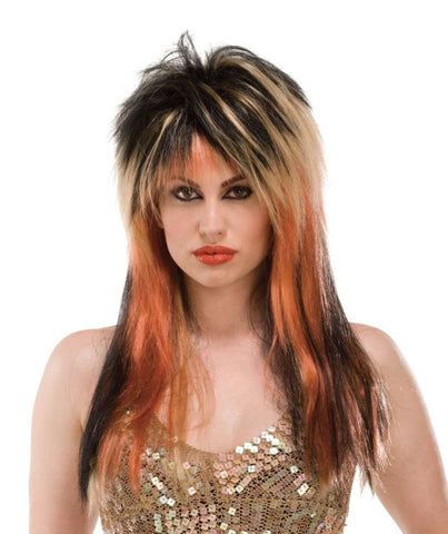 WIG PUNK DIVA BLK/BLNDE/COPPER