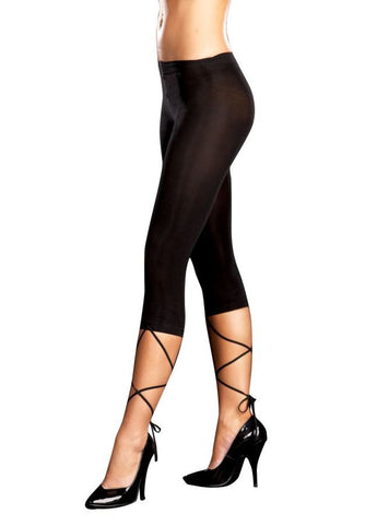 LACE DOWN LEGGING M/L SIZ.8-14