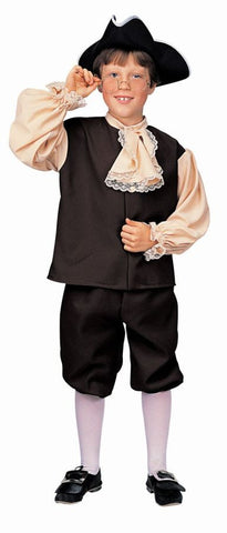 Colonial Boy Child Costume - Small Size 4-6