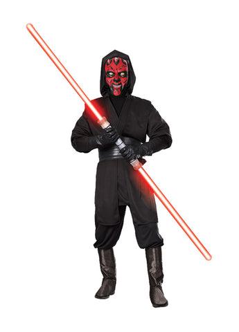 Star Wars Darth Maul Deluxe Men's Adult Costume - Extra Large Size 44-46