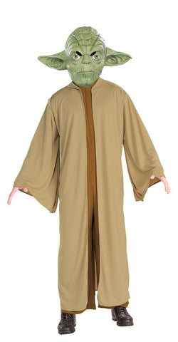 Star Wars Yoda Adult Men's Costume - Extra Large Size 44-46