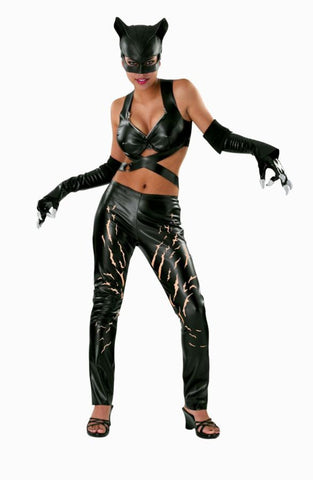 Catwoman Adult Women's Costume - Medium Size 10-14