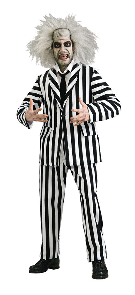 Beetlejuice Grand Heritage Adult Men's Costume - Extra Large Size 44-46