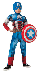 Avengers Captain America Muscle Child Boy's Costume - Small Size 4-6