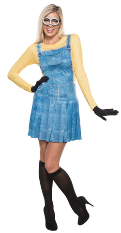 Minion Adult Women's Costume - Extra Small 2-4