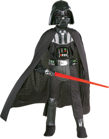 Star Wars Darth Vader Deluxe Child Boy's Costume with Mask - Small 4-6
