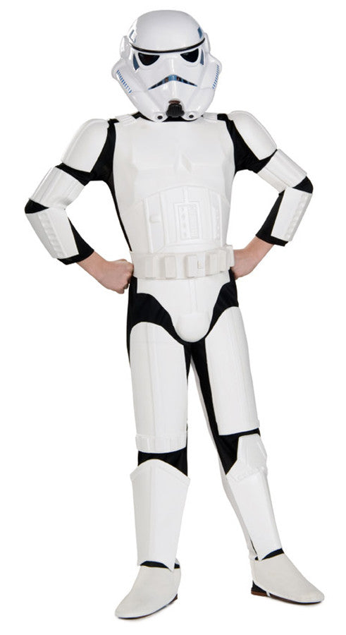 Star Wars Stormtrooper Deluxe Child Boy's Costume - Small 4-6