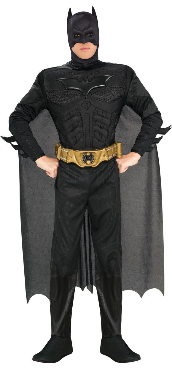 Batman Muscle Chest Jumpsuit Adult Men's Costume - Extra Large 50-52