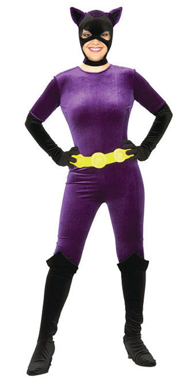 Catwoman Gotham Bodysuit Adult Women's Costume - Extra Small 2-6