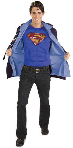 Clark Kent Superman Adult Men's Costume - Extra Large 46-50