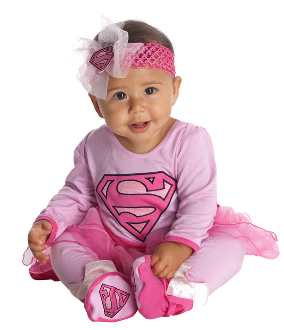 Supergirl Onesie Infant 6-12M