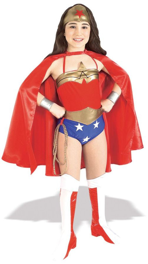 Wonder Woman Deluxe Child Girl's Costume - Small 4-6