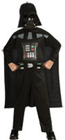 Star Wars Darth Vader Printed Jumpsuit Child Boy's Costume - Medium 8-10