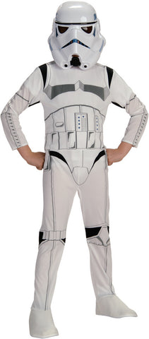 Star Wars Stormtrooper Printed Jumpsuit and Mask Child's Costume - Small 4-6