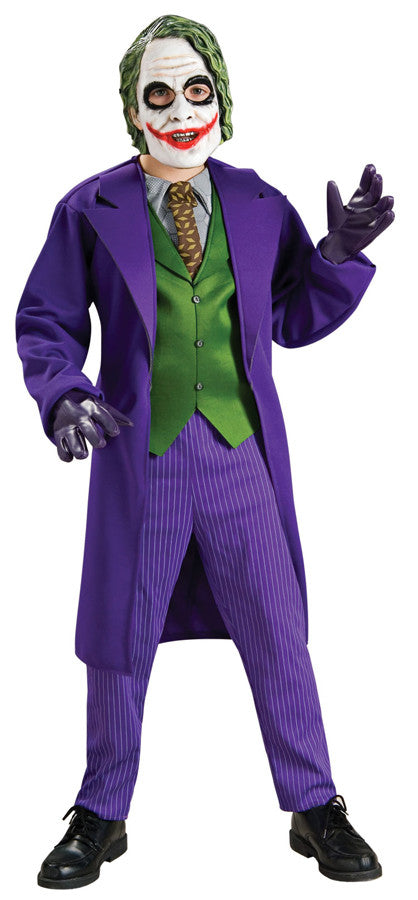 Joker Deluxe Child Boy's Costume - Small 4-6