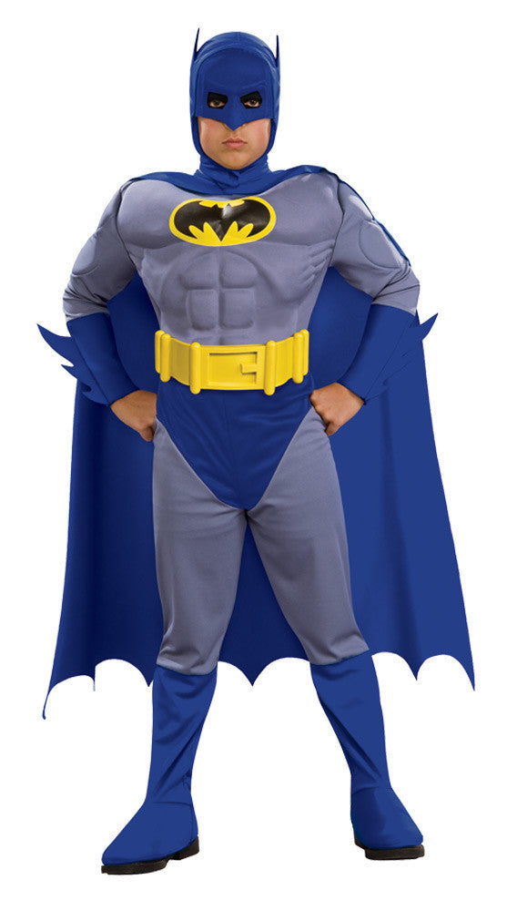 Batman Brave Muscle Child  Boy's Costume - Toddler 3T-4T
