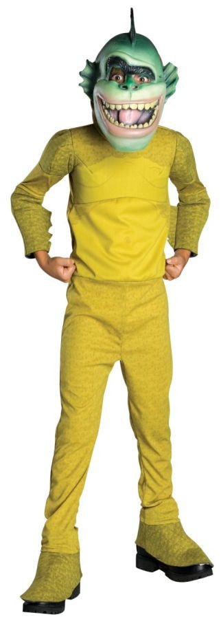 Monsters vs Aliens Missing Link Jumpsuit Child's Costume - Small 4-6